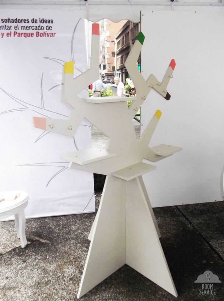 Arbol exhibidor  Bellas Artes Diseñado y producido por 9rs