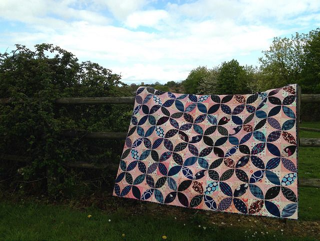 What Quilts Mean (& Orange Peels FO)
