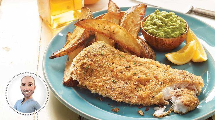 Fish'n'chips sans friture de Stefano Faita