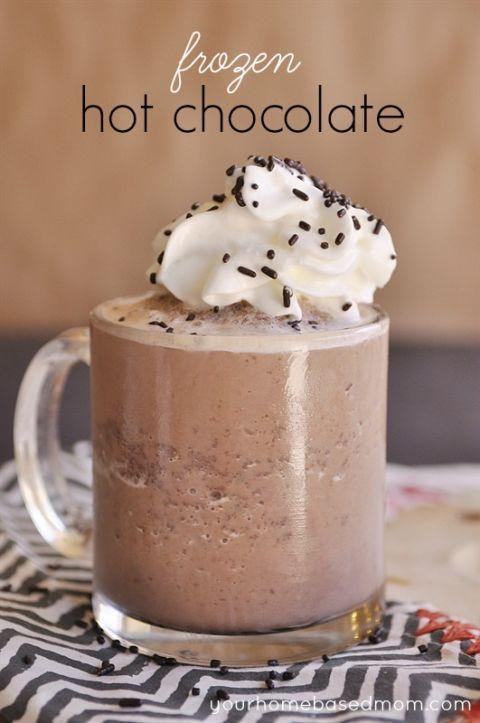 Het is weer tijd voor een kop warme Chocolademelk! Deze 16 warme chocolademelk varianten zijn echt geweldig! - Zelfmaak ideetjes
