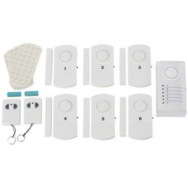 Special Offers - Six Sensor Wireless Home Alarm System with Central Unit and Remote Controls - In stock & Free Shipping. You can save more money! Check It (June 11 2016 at 05:35PM) >> http://wpcamera.net/six-sensor-wireless-home-alarm-system-with-central-unit-and-remote-controls/