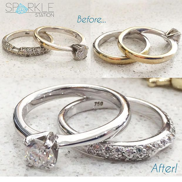 Sparkle Station - Sydney based mobile jewellery cleaning | Does your ring need rhodium..?