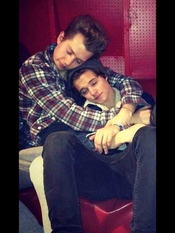 James McVey and Bradley Simpson // The Vamps