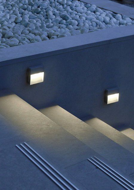 #led wall-mounted foot- and walkover #light SKILL by SIMES