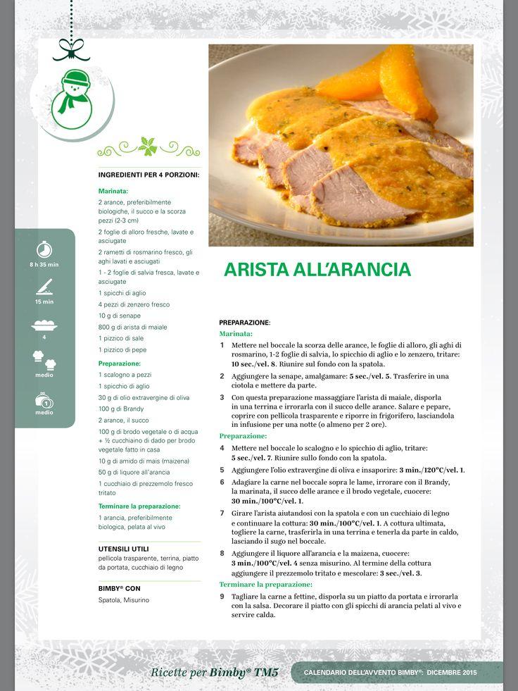 Arista all'arancia - Ricette Bimby