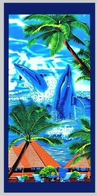 #Ręczniki_hurt Piękny kolorowy ręcznik idealny na plażę podczas upalnych dni.  Oryginalny wzór z pewnością każdemu przypadnie do gustu.   Wymiary: 70 x 147 cm  Materiał: 100 % mikrofibra kasandra.com.pl