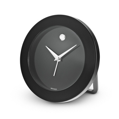 Delightful Personalized Movado Black Travel Table Clock By Things Remembered Design Ideas