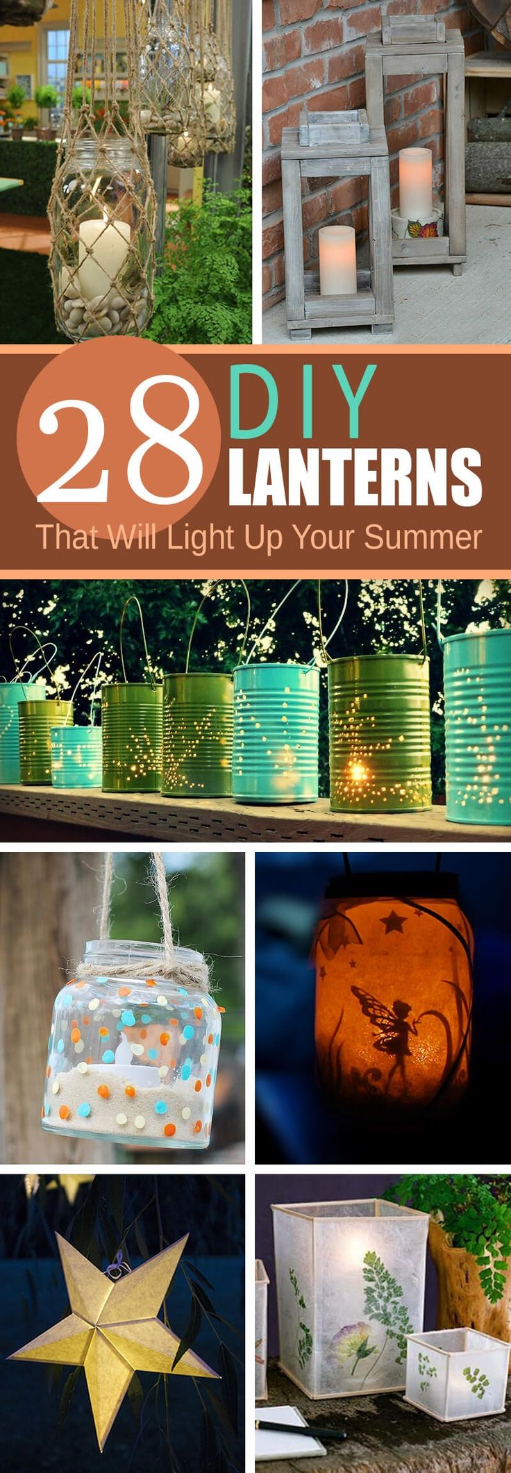 If you need some extra light in your yard but don't want to pay for expensive permanent lighting fixtures, DIY garden lanterns are a great alternative. With simple tools and easy to find materials, you can create everything from rustic wooden candle holders to delicate, twinkling tea light c...