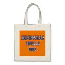 Netherlands Dutch Koningsdag Zwolle King 2016 Tote Bag