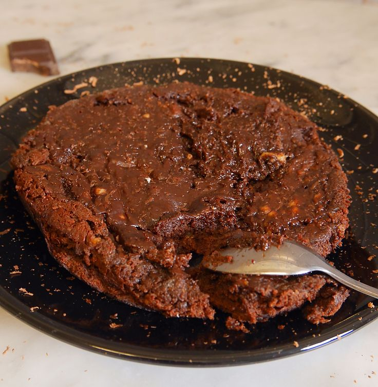 Fondant au chocolat à la poêle