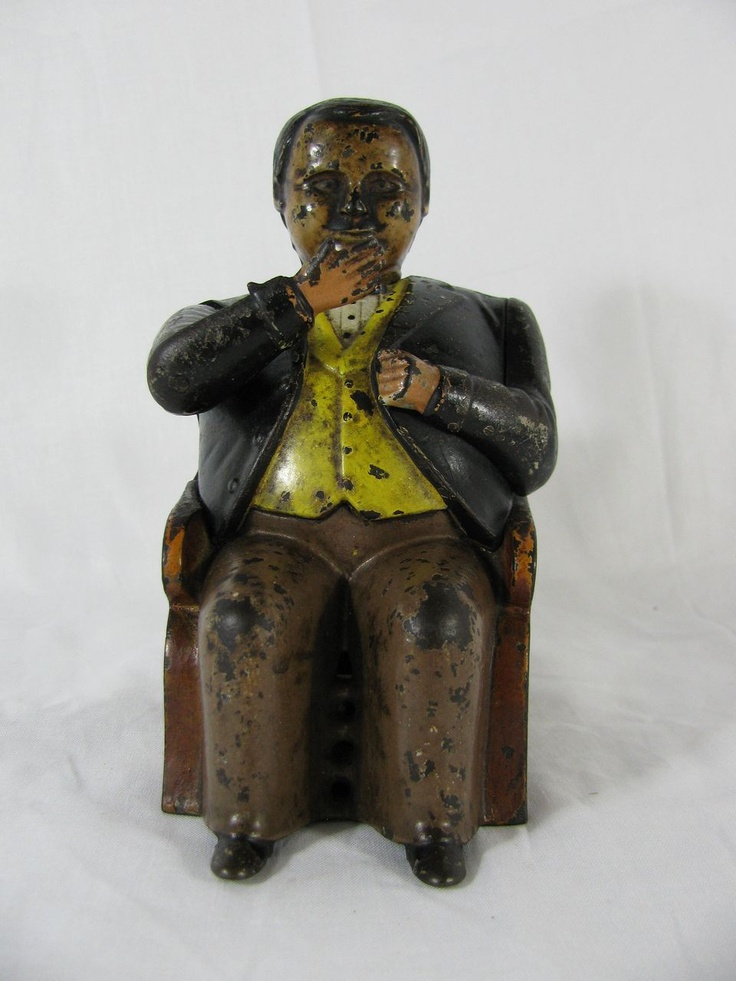 Best Antique Toys : Best cast iron mechanical banks images on pinterest
