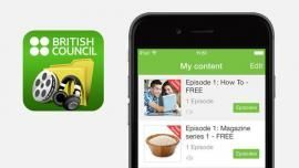 British council apps for learning English-grammar, videos,podcasts, kids etc. …