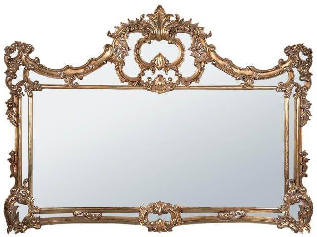 Pigura Cermin Ukir Mewah Jepara PGR-005, living room, pigura, cermin, mebel jepara, kursi