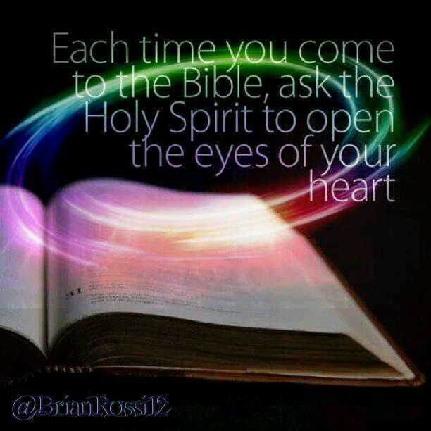 how to read the bible with the holy spirit