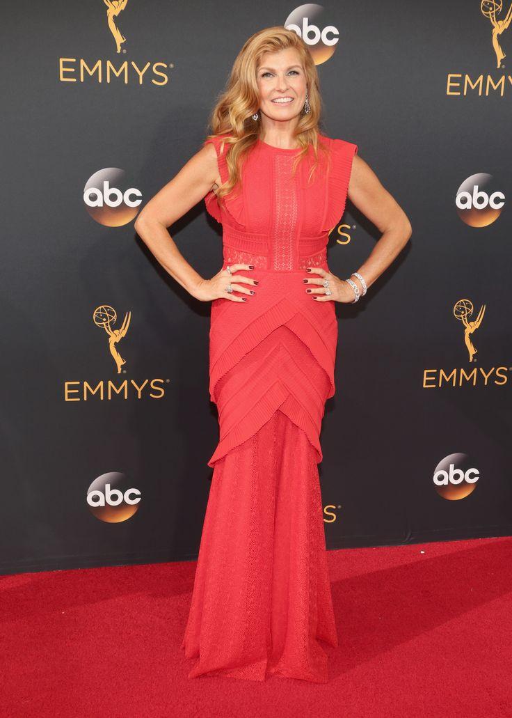 Connie Britton in Talbot Runhof @ the 2016 Emmy Awards