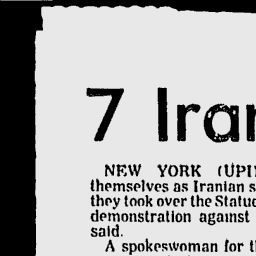 Bangor Daily News - Google News Archive Search 1979 7 iranian students occupy statue of liberty