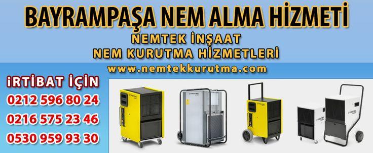 Bayrampaşa Nem Alma Hizmeti | Nem Alma | NEMTEK 530 959 9330
