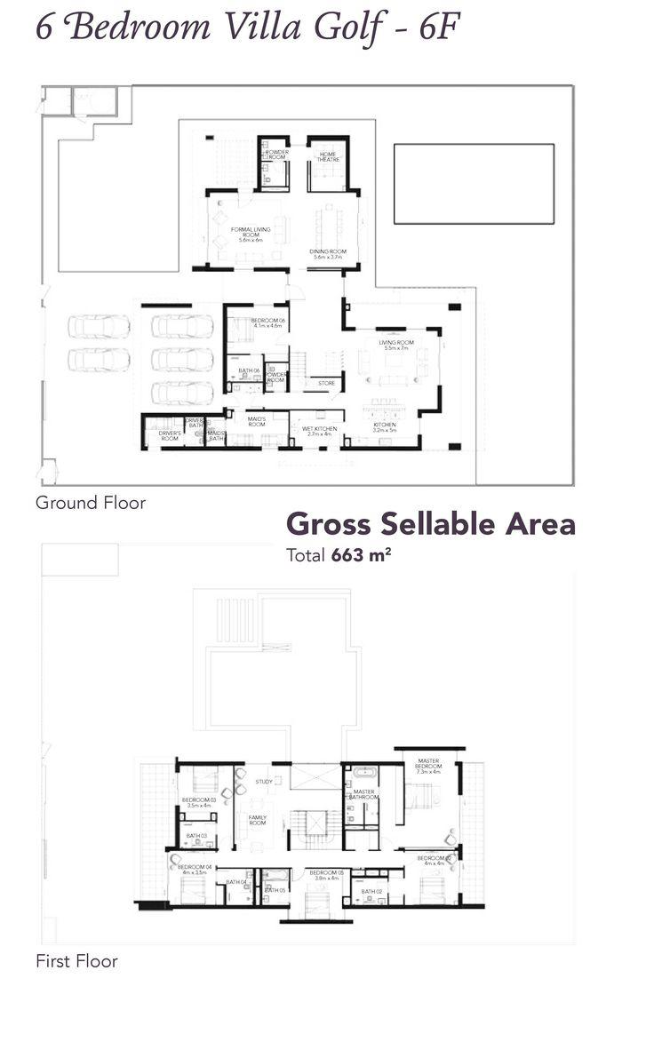 Yas acres villa floor plans yas island abu dhabi
