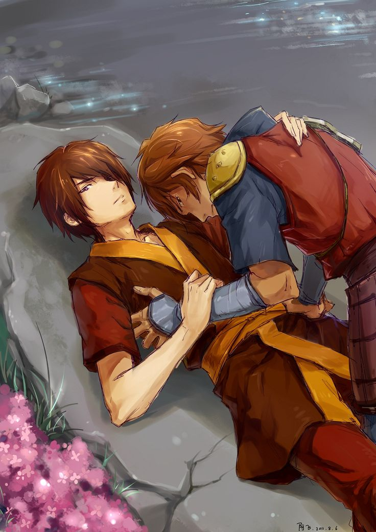 Not a shipper, but this is pretty work. Avatar aang