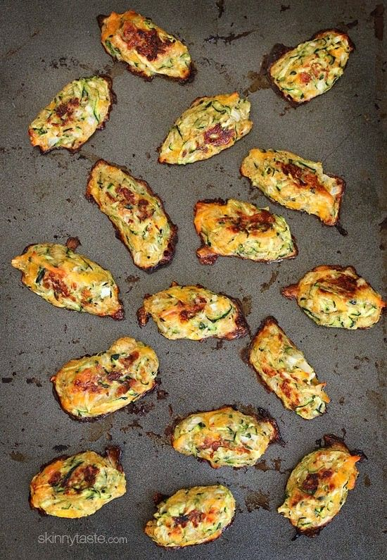 Zucchini Tots | Skinnytaste           Sub Parmesan cheese for bread crumbs for low carb