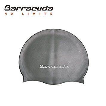 Barracuda Gorro de natación (Logo Estándar) Silicona Accesorios - Impermeable Duradero Color Sólido Cómodo Ligero Profesional Adultos Hombre y Mujer Adolescente