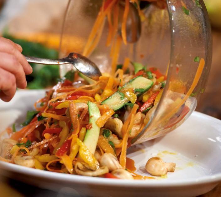 Gegrilltes Gemüse Rezept - [ESSEN UND TRINKEN]