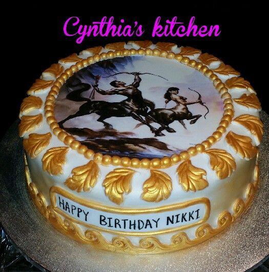 sagittarius birthday cakes