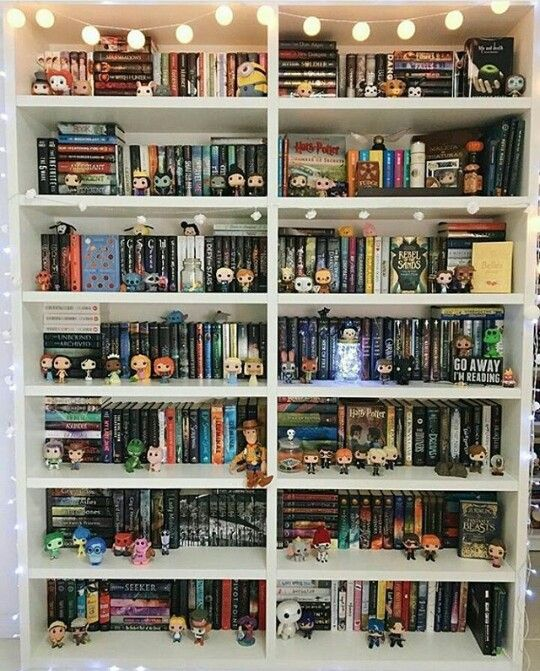 I see all of my favorite book series in there