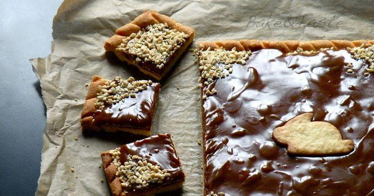 Bake&Taste: Mazurek z krówkami i orzechami