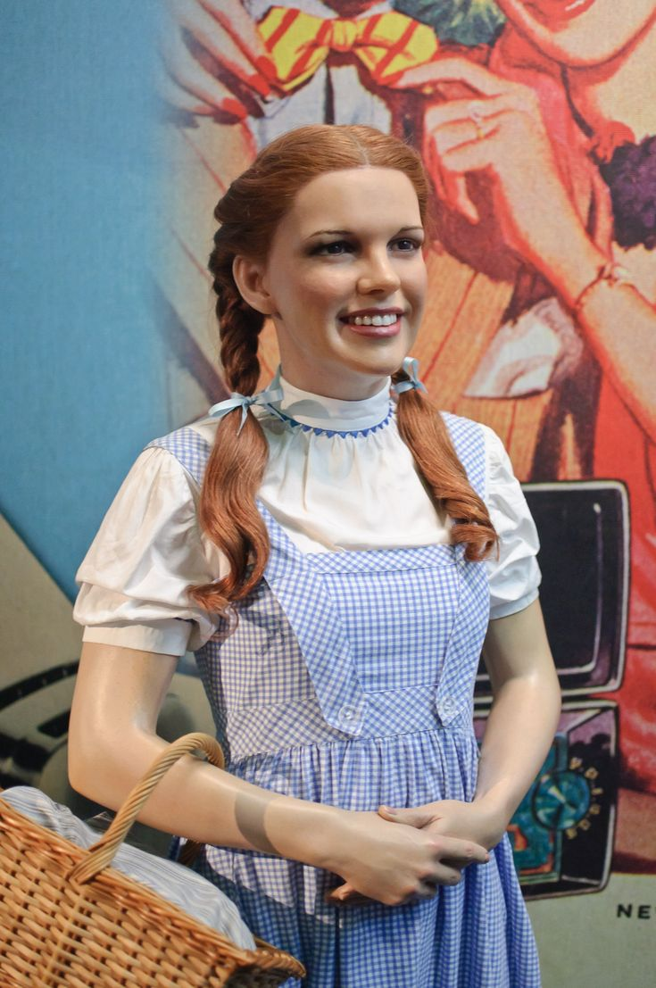 Judy Garland (Dorothy) at Madame Tussaud's New York | Flickr ...