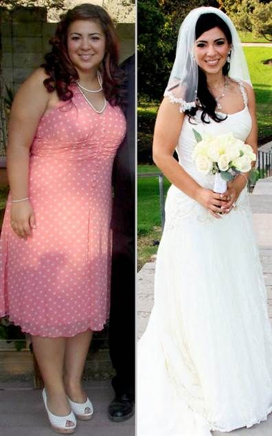 here are some amazing wedding transformations that will get you motivated to start your wedding workout