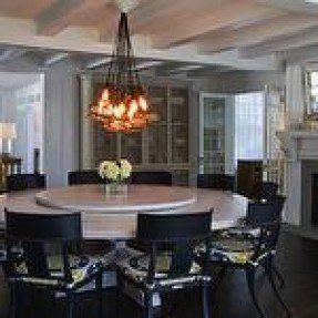 25+ best ideas about Large round dining table on Pinterest | Round ...