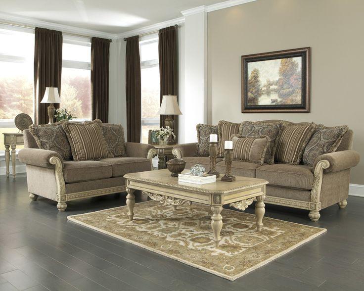 9 best The u0027Parkington Bayu0027 Living Room Collection images on - ashley living room set