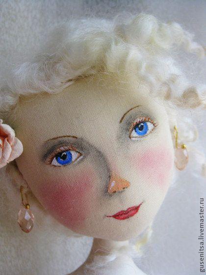 Коллекционные куклы ручной работы. Ярмарка Мастеров - ручная работа Девушка-весна.. Handmade.