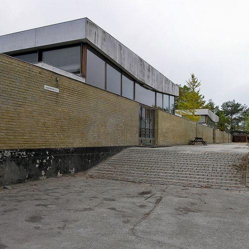 arne jacobsen, nyager school, rødovre, copenhagen 1959-1964: Architecture Mixup, Flickr, Copenhagen 1959 1964, Nyager Schools, Architects Arne, Copenhagen 19591964, Arne Jacobsen, Photo