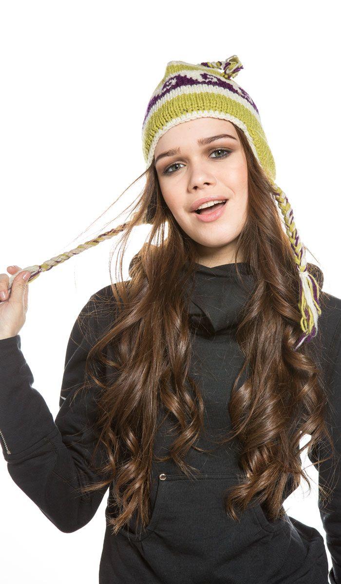 Шапка женская шерстяная, непальская шерсть, индийская шапка, шапка из непальской шерсти, шапка с балабоном, Nepal Wool Cap, indian hat. 970 рублей