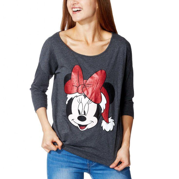 Tee-shirt imprimé Minnie Femme - Kiabi - 9,99€