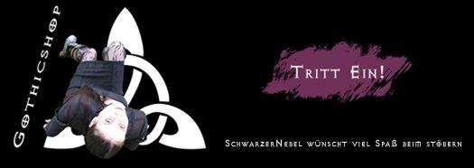 Zum Gothic Shop SchwarzerNebel - Tritt ein
