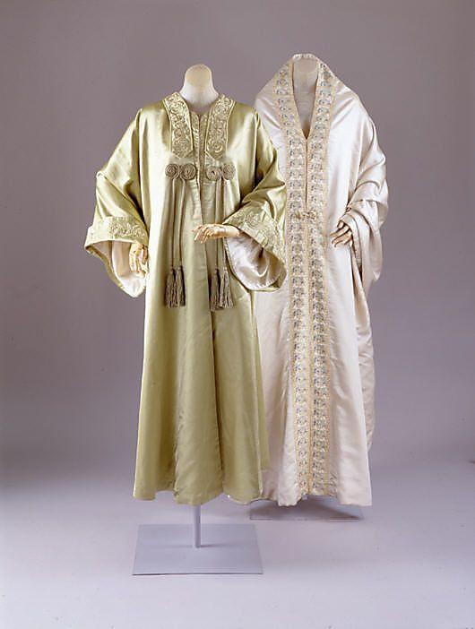Liberty of London, 2 Silk Capes (Cloaks), c. 1906.