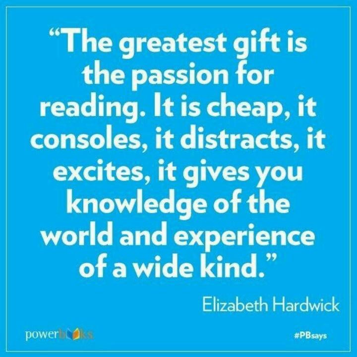 Reading passion