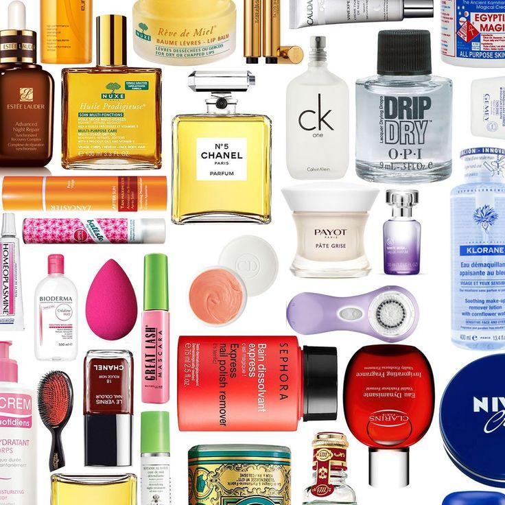 50 produits de beaute a tester au moins une fois dans sa vie