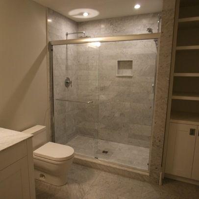 16 best images about showers on pinterest double shower for Basement bathroom tile ideas