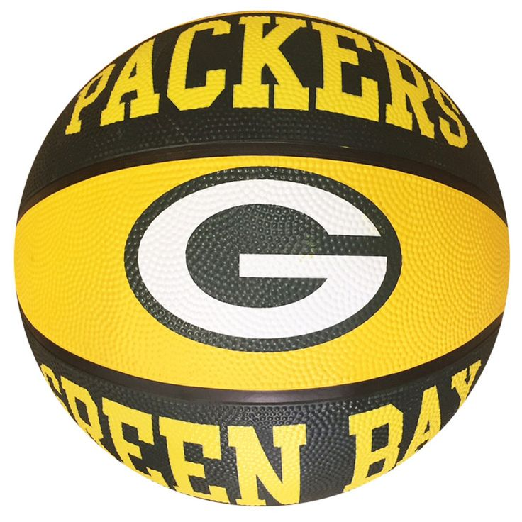 Green Bay Packers Oversize Logo Basketball