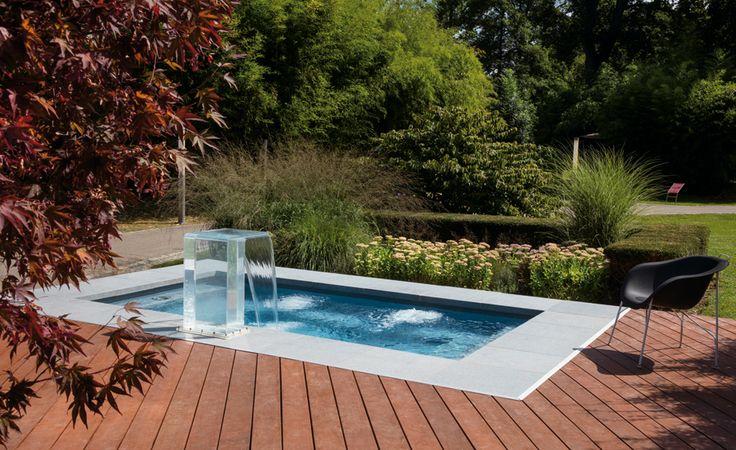 CSide Der Minipool fr kleine Grten  naturpoolsde  Garten  Pool im garten kleiner Pool