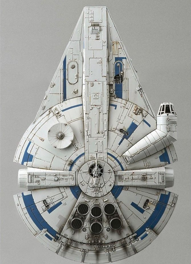 The Millenium Falcon from Star Wars is a Star Wars ship called the Millenium Falcon in Star Wars.