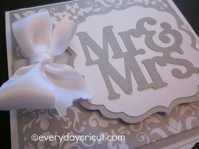 Cricut Wedding Ideas | Popped Up The Section With The Image To Give It A Bit
