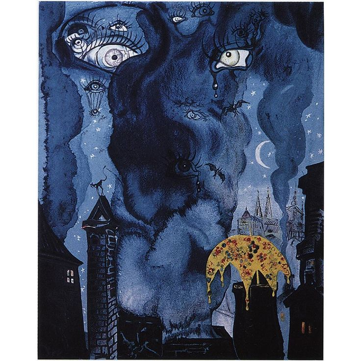 """Salvador Dali Here's another one from the Hans Christian Andersen's Fairy Tales series titled """"The Sandman"""" completed in 1966."""