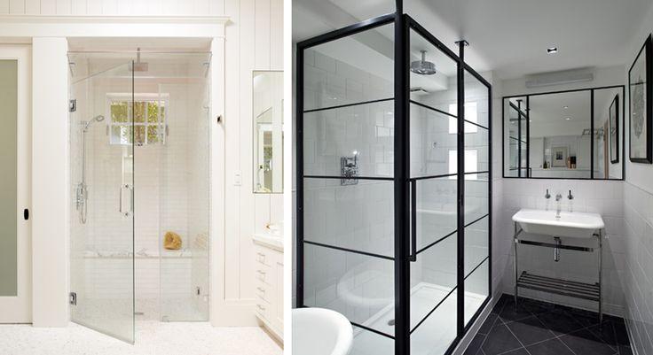 Znalezione obrazy dla zapytania małe łazienki z kabiną prysznicową