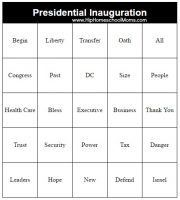 This inauguration speech bingo game printable will make listening to the inauguration speech more fun (and more educational!) for you and your children.