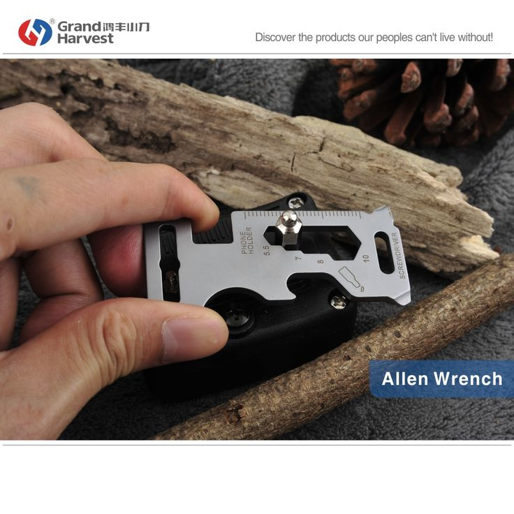 Grand Harvest portable multi tool 2017 mini pocket allen wrench spoke wrench slotted screwdriver survival pocket tools-in Outdoor Tools from Sports & Entertainment on Aliexpress.com   Alibaba Group